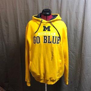 NWT Men's U of M Hooded Sweatshirt